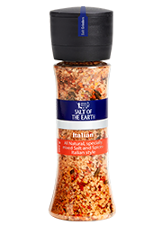 blend of sea salt and italian spices